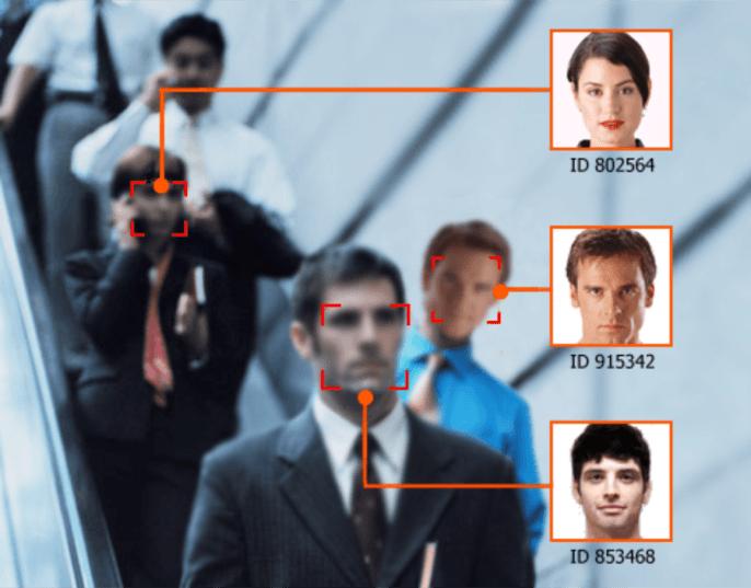 دوربین مداربسته با قابلیت تشخیص چهره
